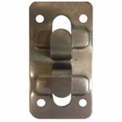 Кляммер угловой  AISI-430-1,2*10мм.RAL